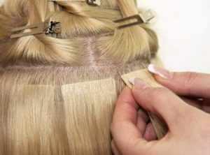 Наращивание волос специалистами