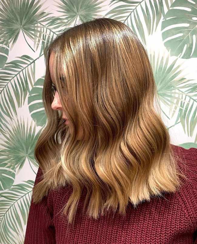 твидовое окрашивание волос