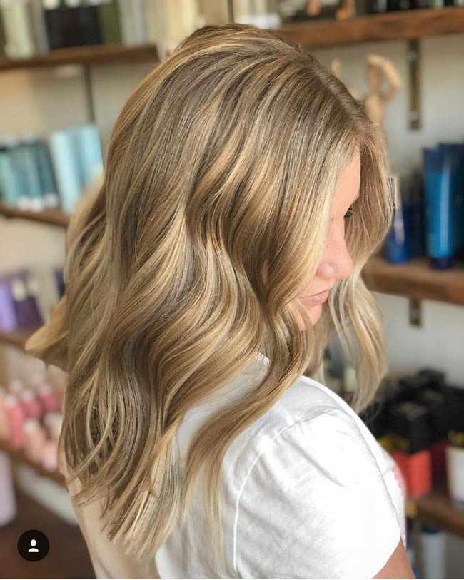 Все виды мелирования на русые волосы