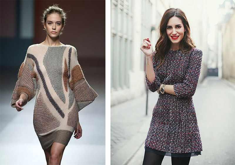 модные платья осень зима 2019